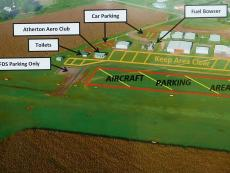 Atherton Aerodrome Parking Areas
